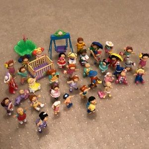 Vintage 1984 Cabbage Patch PVC Figurines for sale